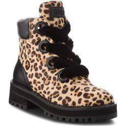 Trapery LIU JO - Pink 01 S68089 PX008 Spotted Beige Z9195. Brązowe buty zimowe damskie marki Liu Jo, ze skóry ekologicznej. Za 1199,00 zł.