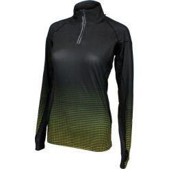 Bluzy damskie: Rucanor Bluza damska Mette long sleeve czarno-zielona r. XL (29661-227)