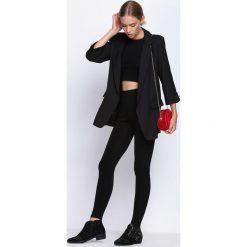 Czarne Legginsy Get Fashion. Czarne legginsy Born2be, xxl. Za 29,99 zł.