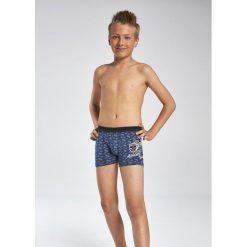 Bokserki chłopięce Young 700/67 Athletic jeans r. 140. Szare bielizna chłopięca Cornette, z jeansu. Za 27,32 zł.