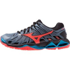 Mizuno WAVE TORNADO X2 Obuwie do siatkówki blue mirage/fiery coral/black. Różowe buty do fitnessu damskie marki Mizuno. Za 629,00 zł.
