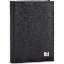 Duży Portfel Męski TRUSSARDI JEANS - Wallet Vertical Coin Pocket Smooth 71W00002 K299. Czarne portfele męskie marki Trussardi Jeans, z jeansu. W wyprzedaży za 239,00 zł.