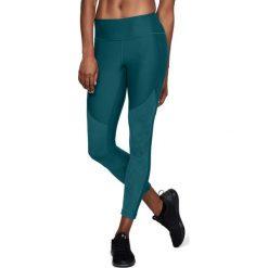 Spodnie sportowe damskie: Under Armour Spodnie damskie TB Balance Mesh Ankle Crop zielone r. M  (1305438-716)