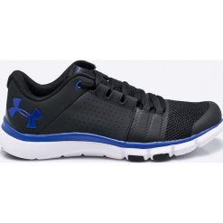 Under Armour - Buty Strive 7. Szare buty sportowe męskie Under Armour, z materiału, na sznurówki. W wyprzedaży za 239,90 zł.