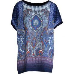 Bluzki asymetryczne: Granatowy T-shirt Sage