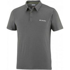 Columbia Koszulka Męska Triple Canyon Tech Polo, Shark L. Szare koszulki polo marki Columbia, l. W wyprzedaży za 155,00 zł.