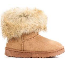 Buty zimowe damskie: CAMELOWE MUKLUKI Piper