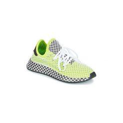 Buty Dziecko adidas  DEERUPT RUNNER J. Zielone trampki chłopięce Adidas. Za 247,20 zł.