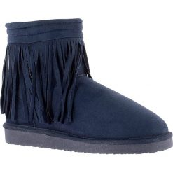 """Buty zimowe damskie: Kozaki zimowe """"Corto"""" w kolorze niebieskim"""
