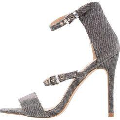 Sandały damskie: Miss Selfridge CLAUDIA Sandały na obcasie metallic