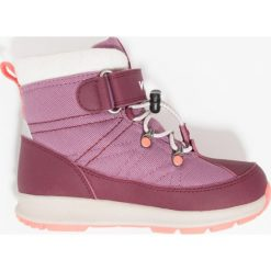 Viking SOKNA GTX Śniegowce burg. Fioletowe buty zimowe damskie marki Viking, z materiału. W wyprzedaży za 233,35 zł.