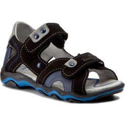 Sandały RENBUT - 21-3277-0066-26 Czarny. Czarne sandały męskie skórzane marki RenBut. W wyprzedaży za 129,00 zł.