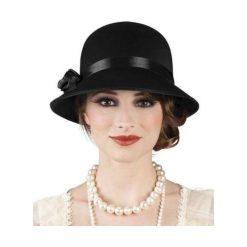 Kapelusz damski Charleston Lady - czarny. Czarne kapelusze damskie marki ASTER. Za 28,72 zł.