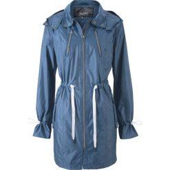 Płaszcz bonprix indygo. Niebieskie płaszcze damskie bonprix. Za 99,99 zł.