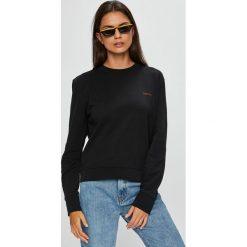 Calvin Klein - Bluza. Szare bluzy damskie marki Calvin Klein, l, z bawełny, bez kaptura. Za 399,90 zł.