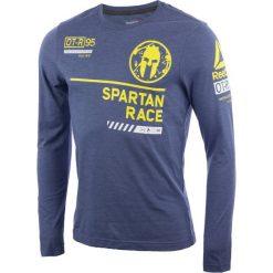 T-shirty męskie: koszulka do biegania męska REEBOK SPARTAN LONG SLEEVE BRAND TEE / AX9594