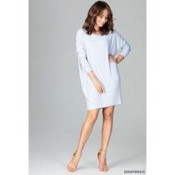 Sukienki: Sukienka K467 błękit