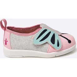 Emu Australia - Tenisówki dziecięce. Różowe buty sportowe dziewczęce EMU Australia, z materiału. W wyprzedaży za 159,90 zł.