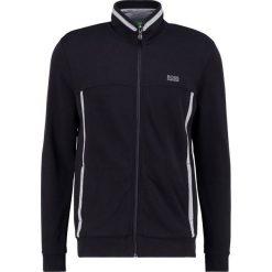 BOSS ATHLEISURE SKAZOS Bluza rozpinana black. Niebieskie bluzy męskie rozpinane marki BOSS Athleisure, m. W wyprzedaży za 421,85 zł.
