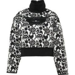 Adidas by Stella McCartney RUN  Kurtka sportowa black/white. Czarne kurtki damskie softshell adidas by Stella McCartney, s, z elastanu. Za 649,00 zł.