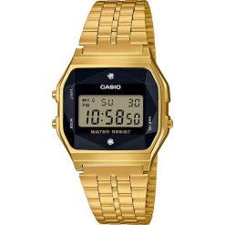 Zegarek Casio Damski Retro Diamond Limited A159WGED-1EF złoty. Żółte zegarki damskie CASIO, złote. Za 268,99 zł.