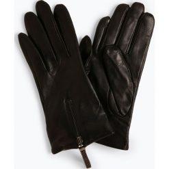 Pearlwood - Skórzane rękawiczki damskie – Ellen, czarny. Czarne rękawiczki damskie Pearlwood. Za 349,95 zł.