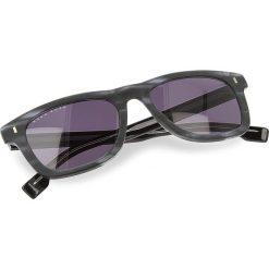 Okulary przeciwsłoneczne BOSS - 0925/S Mttblue Horn HW8. Czarne okulary przeciwsłoneczne damskie lenonki marki Boss. W wyprzedaży za 489,00 zł.