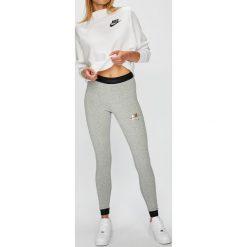 Nike Sportswear - Legginsy. Szare legginsy Nike Sportswear, l, z bawełny. Za 159,90 zł.