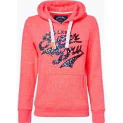 Superdry - Damska bluza nierozpinana, różowy. Szare bluzy damskie marki Superdry, l, z tkaniny, z okrągłym kołnierzem, na ramiączkach. Za 349,95 zł.