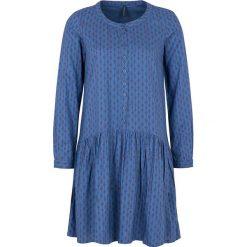 """Sukienki hiszpanki: Sukienka """"Abene"""" w kolorze niebieskim"""