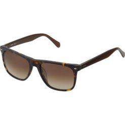 Fossil Okulary przeciwsłoneczne matt havana. Brązowe okulary przeciwsłoneczne męskie aviatory Fossil. Za 369,00 zł.