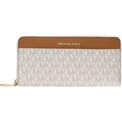MICHAEL Michael Kors Portfel vanilla. Białe portfele damskie marki MICHAEL Michael Kors. Za 589,00 zł.