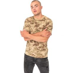 Mil-Tec Koszulka męska Tarn Mil-Tec Digital Desert khaki r. L. Brązowe koszulki sportowe męskie Mil-Tec, l. Za 36,89 zł.