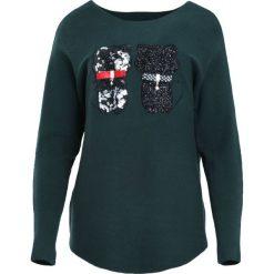 Swetry damskie: Ciemnozielony Sweter See Us