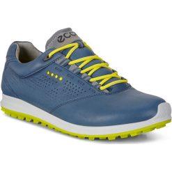 Golfy męskie: ECCO Men's Golf Biom Hybrid 2 – Niebieski – 39