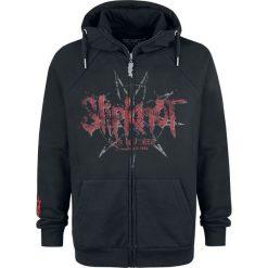 Slipknot EMP Signature Collection Bluza z kapturem rozpinana czarny. Czarne bluzy męskie rozpinane marki Slipknot, m, z nadrukiem, z kapturem. Za 264,90 zł.