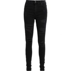 Boyfriendy damskie: Brooklyn's Own by Rocawear Jeans Skinny Fit black denim