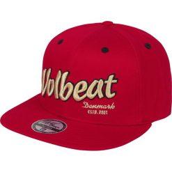 Czapki damskie: Volbeat Logo Czapka Snapback czerwony