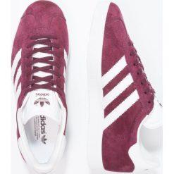 Adidas Originals GAZELLE Tenisówki i Trampki maroon/white/gold metallic. Szare tenisówki męskie marki adidas Originals, z gumy. Za 399,00 zł.