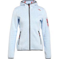 CMP Kurtka z polaru azzurro/graffite/ferrari. Czerwone kurtki sportowe damskie marki CMP, z materiału. W wyprzedaży za 231,20 zł.