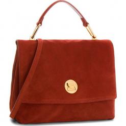 Torebka COCCINELLE - CD1 Liya Suede E1 CD1 18 01 01 Bourgogne R00. Czerwone torebki klasyczne damskie Coccinelle, ze skóry. W wyprzedaży za 1049,00 zł.