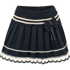 Minispódniczki: Innocent Bow Lace Mini Spódnica Mini czarny/biały