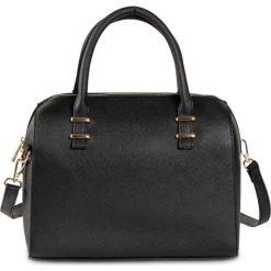 Torebka bonprix czarny. Czarne torebki klasyczne damskie bonprix, w paski, zdobione. Za 99,99 zł.