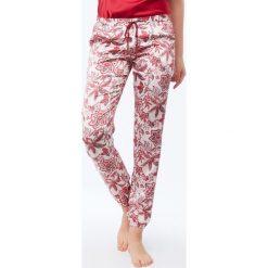 Etam - Spodnie piżamowe Clara. Niebieskie piżamy damskie marki Etam, l, z bawełny. Za 119,90 zł.