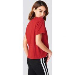 NA-KD Basic T-shirt oversize - Red. Różowe t-shirty damskie marki NA-KD Basic, z bawełny. Za 52,95 zł.