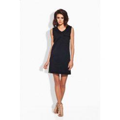 Sukienki balowe: Klasyczna sukienka w typie safari czarna