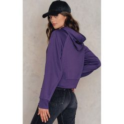 Bluzy damskie: Cheap Monday Bluza z kapturem Attract - Purple