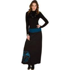 Długie spódnice: Spódnica w kolorze czarnym