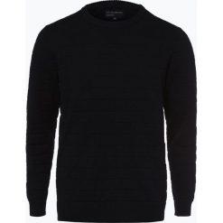 Nils Sundström - Sweter męski, niebieski. Niebieskie swetry klasyczne męskie marki OLYMP SIGNATURE, m, paisley. Za 169,95 zł.