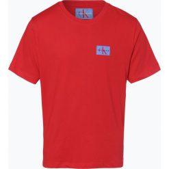 Calvin Klein Jeans - T-shirt męski, czerwony. Czarne t-shirty męskie marki Calvin Klein Jeans, z bawełny. Za 119,95 zł.